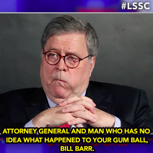 Bill Barr makes a ridiculous claim about coronavirus mandates. #LSSC