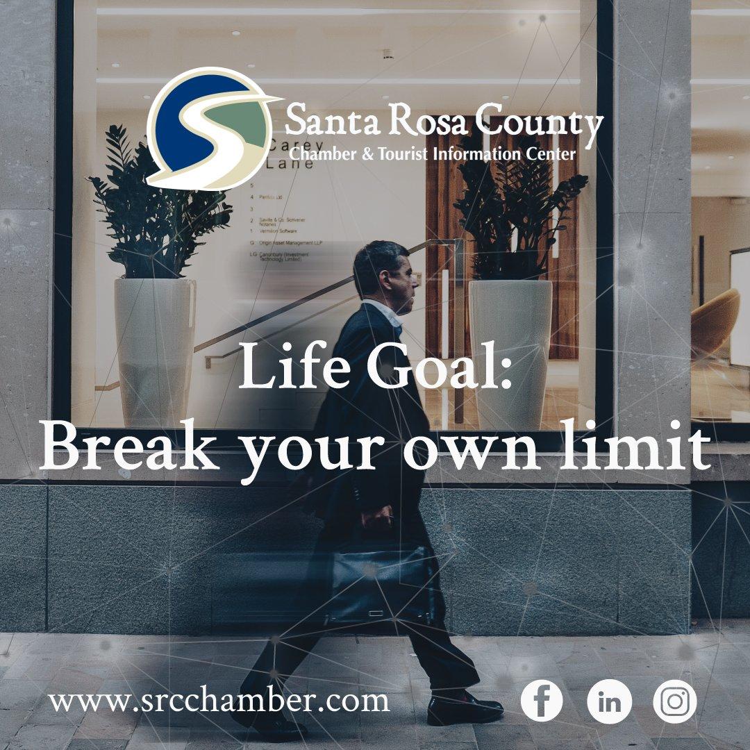 Life Goal: break your own limit