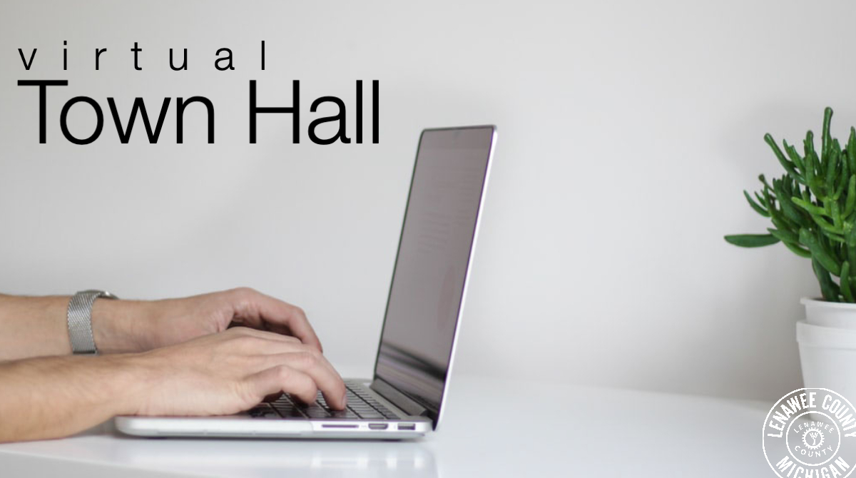 ➡️ ➡️ ➡️ You are invited to a Virtual Town Hall  📆 9/23 ⏰ 6 PM 👨‍💻