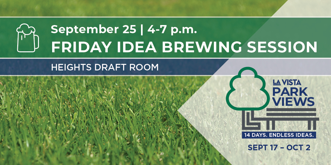 What kind of park ideas are brewing in your head? We want to know! Join us tonight at The Heights Draft Room in City Centre so we can gather your feedback on the types of amenities and activities you'd like to see in our parks! More info at .