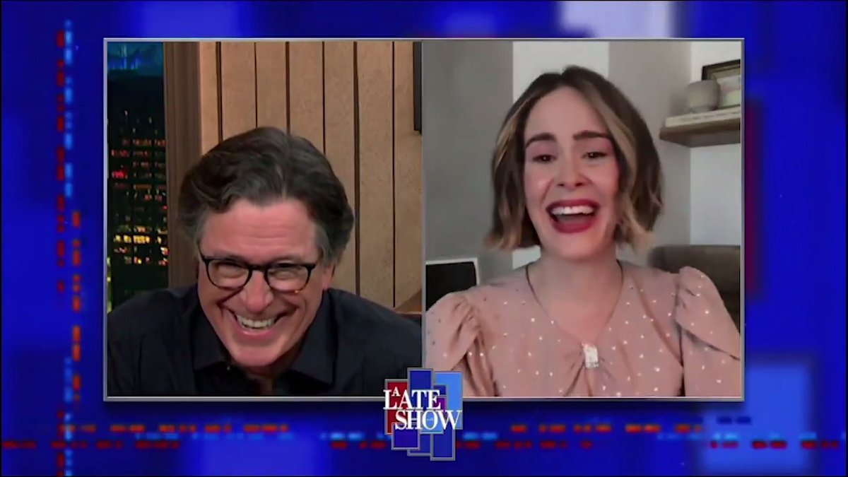 """.@MsSarahPaulson got drunk with Cate Blanchett on the set of """"Carol"""" #LSSC"""
