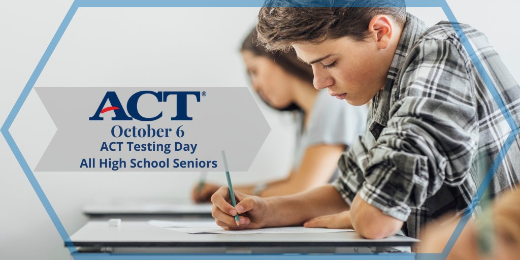 Parents: Please note only seniors will report to school October 6 to take the ACT test and select juniors who have paid to take the exam. 9th-11th graders will have a virtual learning day.  *Please contact your school counselor if you have any questions. #bossierschools