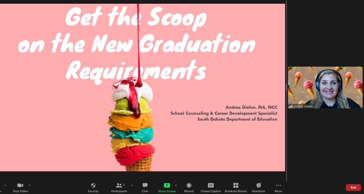 "New graduation requirements adopted in 2018 take full effect this year. Andrea Diehm has been leading webinars on the new  requirements, and there is one more webinar opportunity for educators to ""get the scoop,"" on Wednesday, Sept. 23. Details:"