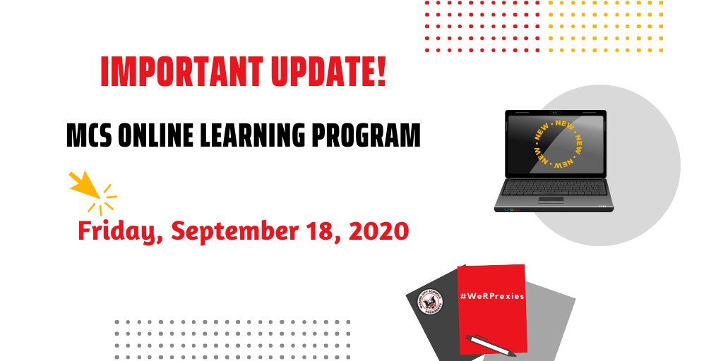 ‼️ Important UPDATE for participants of the 𝐌𝐂𝐒 𝐎𝐧𝐥𝐢𝐧𝐞 𝐋𝐞𝐚𝐫𝐧𝐢𝐧𝐠 𝐏𝐫𝐨𝐠𝐫𝐚𝐦! New information has been added to the 𝐍𝐞𝐰𝐬/𝐔𝐩𝐝𝐚𝐭𝐞𝐬 𝐟𝐫𝐨𝐦 𝐎𝐧𝐞 𝐂𝐚𝐥𝐥 𝐌𝐞𝐬𝐬𝐚𝐠𝐞𝐬 resource on our website at 👉 . #WeRPrexies