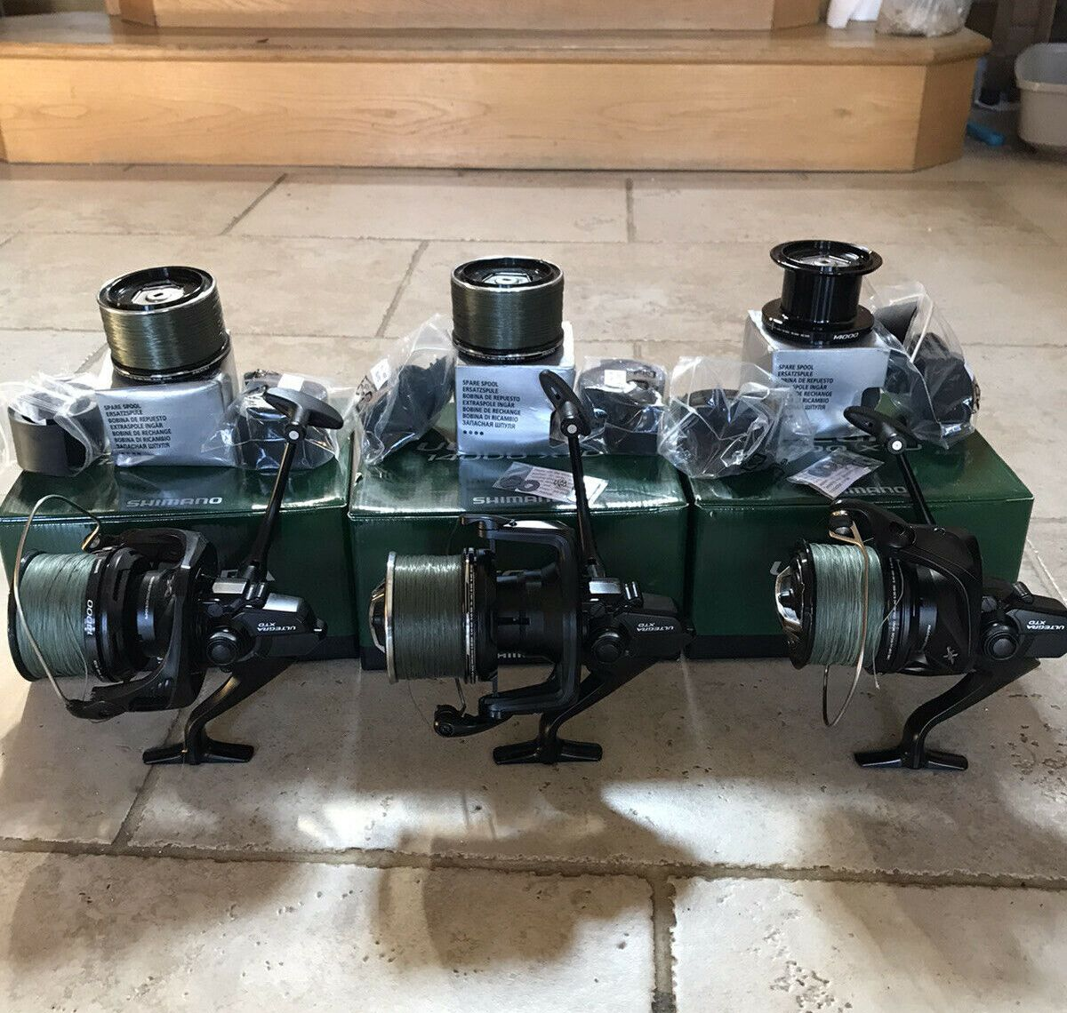 Ad - Shimano Ultegra 14000 XTD reel x3 On eBay here -->> https://t.co/2E4N2MOy5n  #carpfishing