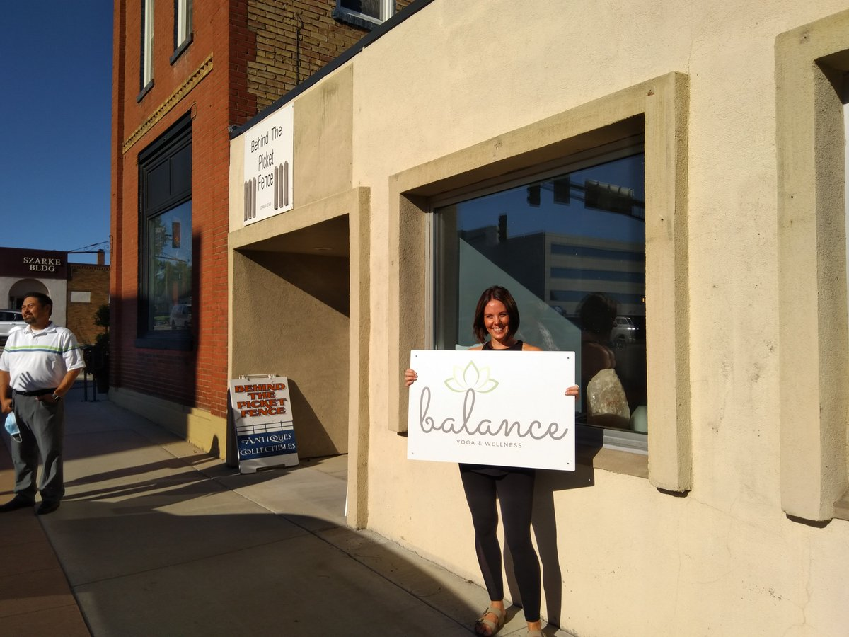 NEW CHAMBER MEMBER! BALANCE YOGA & WELLNESS , 763-202-5730. What sets this studio apart? Lisa believes that yoga should be accessible to all! Her goal is to create a community of support, growth and wellness. She will be teaching yoga, barre, and meditation