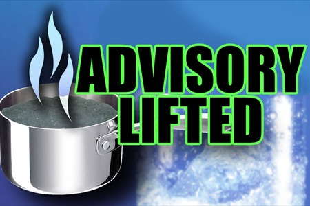 Scioto County Regional Water District #1, located in Lucasville, Ohio has lifted the boil advisory for the following areas:  Mead McNeer Rd. Tick Ridge Rd. Ridge Ln.