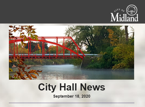 In this week's City Hall News: A statement regarding #Halloween trick-or-treating; Updates on sewer system video inspections; #buynearbymi weekend event in @DTMidlandMI & more! Read > -