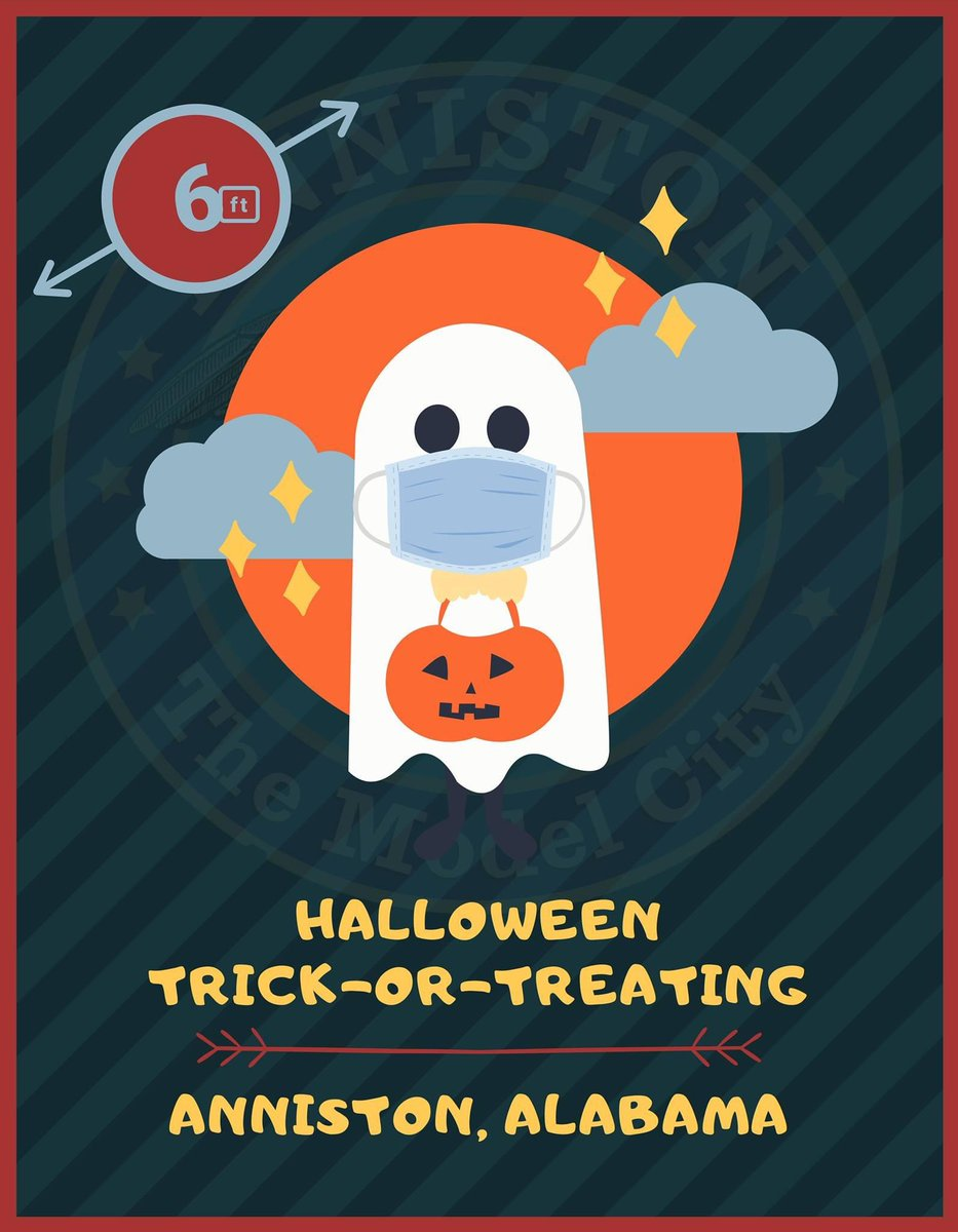 #PSA: Halloween Trick-or-Treating   After speaking with members of our various communities, the City of #Anniston would like its citizens to know that traditional #Halloween Trick-or-Treating activities will go on as they have in years past. Have fun, but stay #Safe! 🎃