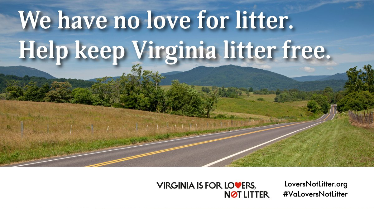 Love & litter don't mix. Take the No Love for Litter Pledge today & help keep our beautiful landscapes over mountains and roadways litter free, lovely and welcoming to all . . .
