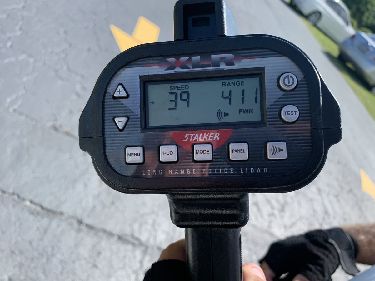 Did you know speeding fines are doubled in a school zone? Port St Lucie Police Traffic Enforcement Officers were in front of Oak Hammock K-8 this afternoon.