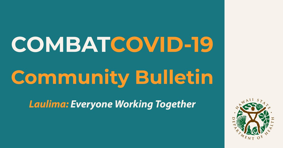 RT @HIgov_Health: This week's community bulletin highlights Dr. Collis' answers to tough questions like: What is one of the most common misconceptions about COVID-19?