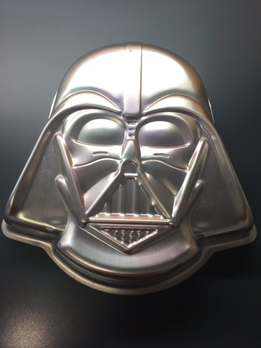 Somehow, a devil's food Darth Vader cake seems very 2020.