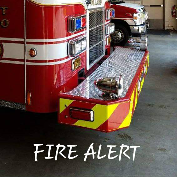 FIRE ALERT: Units are currently on the scene of an outside fire on the 100 block of Crystal Lake Rd. OIC has requested both tanker trucks to the scene.  Please use caution in the area.