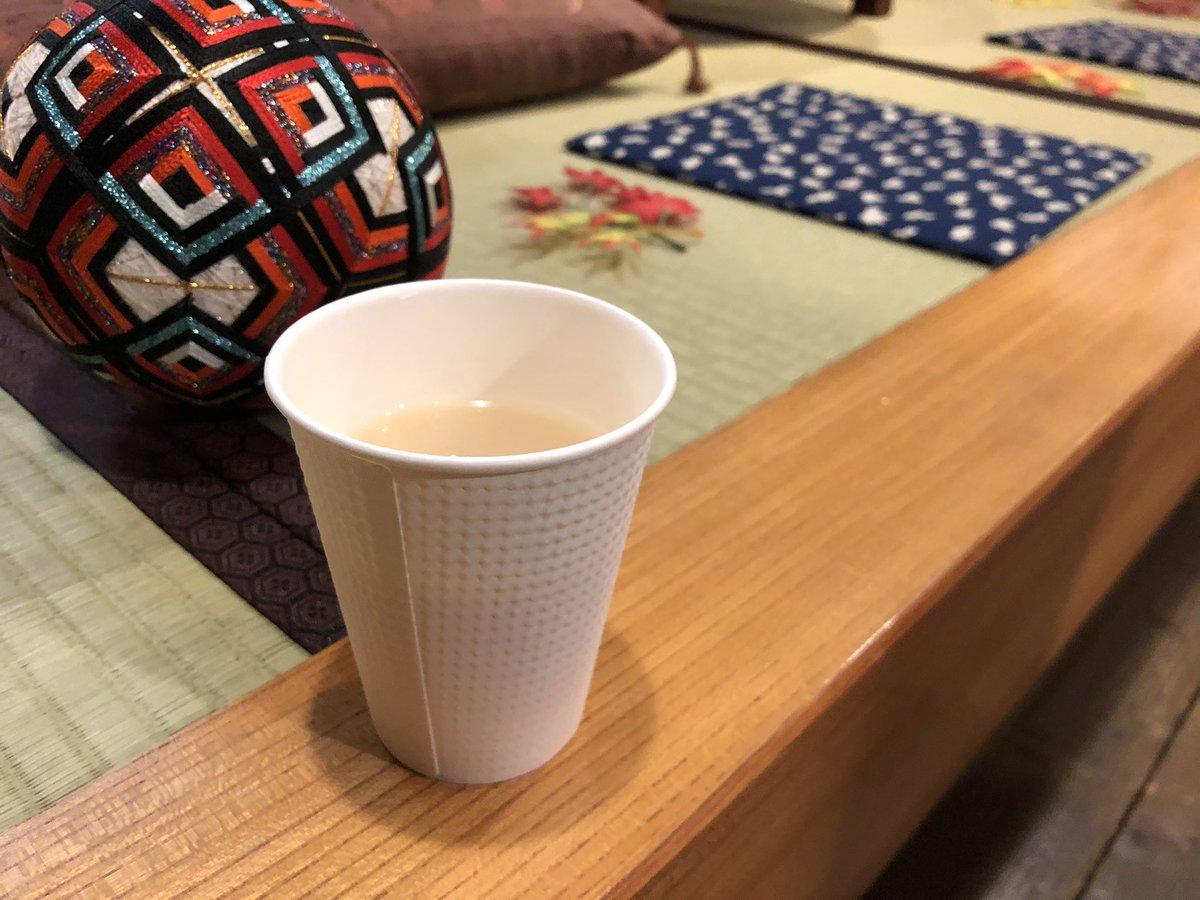 test ツイッターメディア - 小樽に来て早々田中酒造で日本酒を背負って甘酒を飲んでいる。日本酒は試飲もいただきました https://t.co/X5ukMz0fhJ