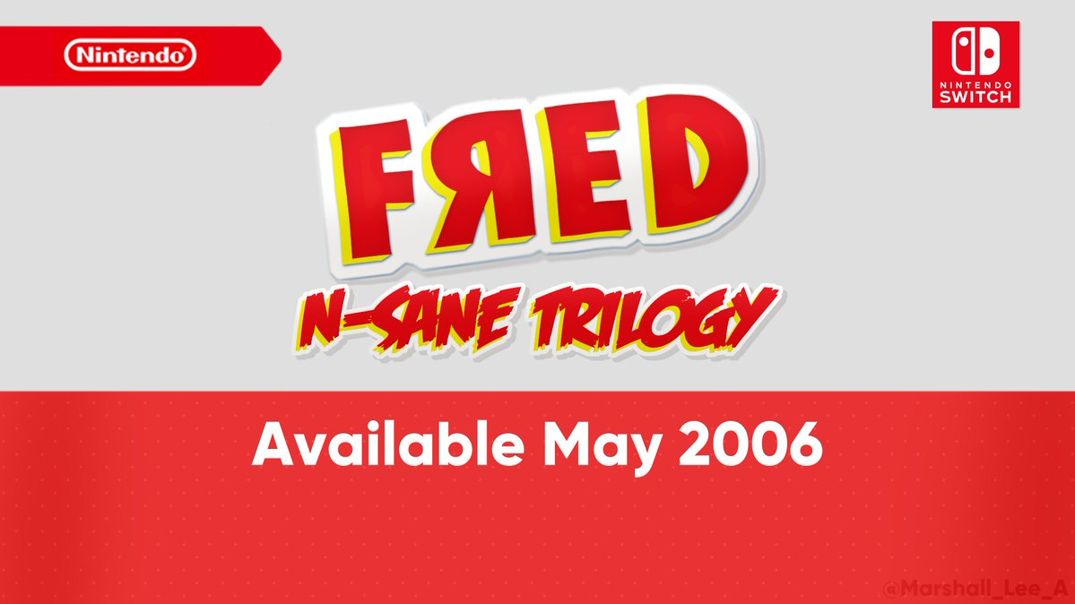 Your favorite youtuber, FЯED™, is back! He's enhanced, entranced and ready-to-dance with the N-Sane Trilogy. Relive all your favorite moments in FЯED: The Movie™, FЯED™ 2: Night of the Living FЯED and FЯED™ 3: Camp FЯED, now in fully-remastered graphical glory!
