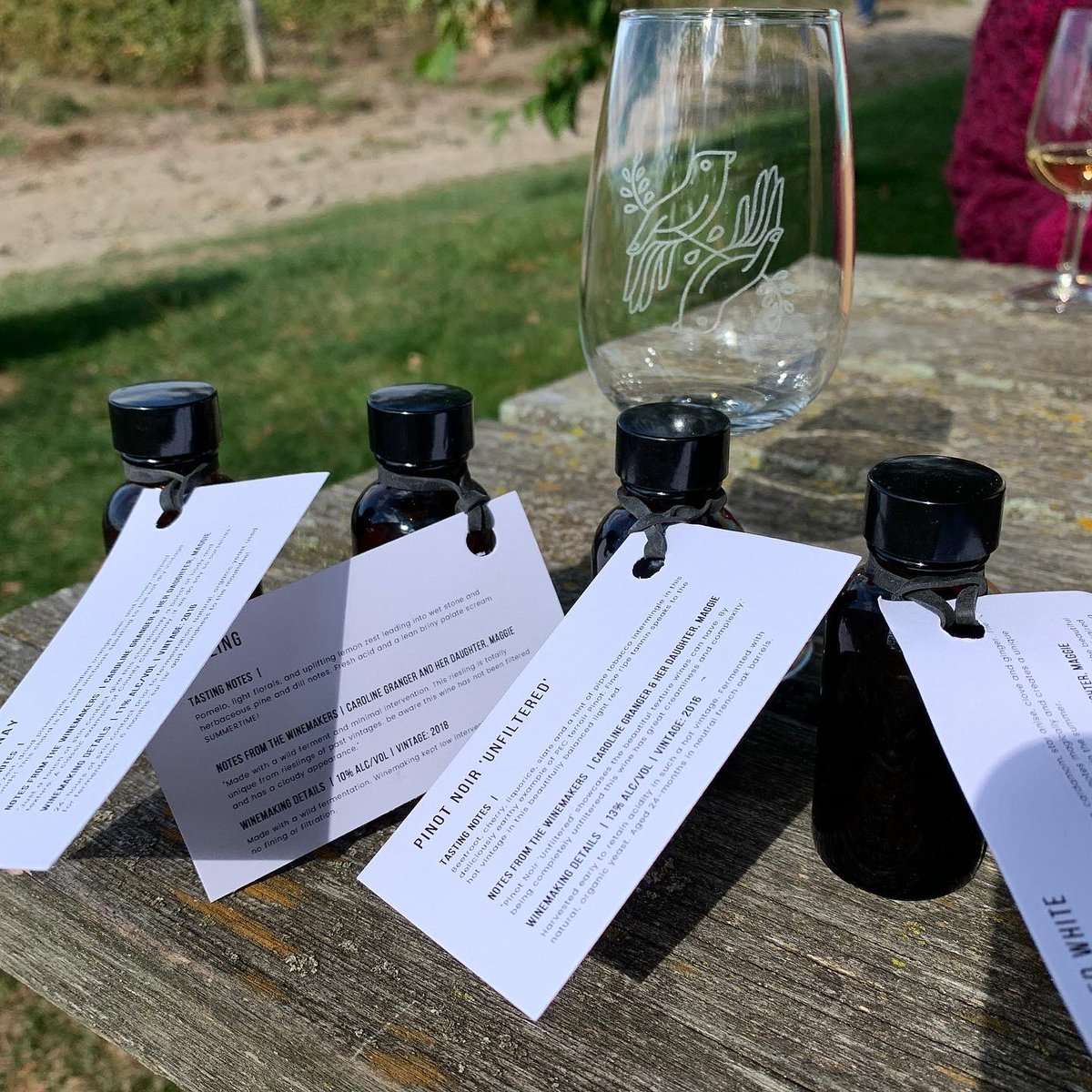 test Twitter Media - In Prince Edward County for the weekend and how cute is this little wine sampling kit from @grangewinery? A perfect way to sample outside or at home safely. https://t.co/Jd22xSZSyn