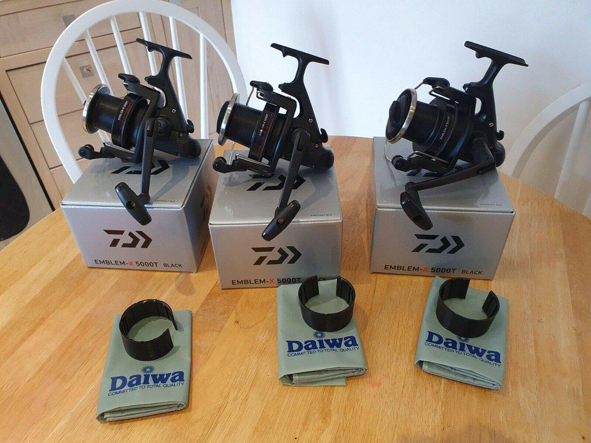 Ad - Daiwa Emblem X 5000T Black Edition x3 On eBay here -->> https://t.co/nRI4rHIgQa  #carpfis