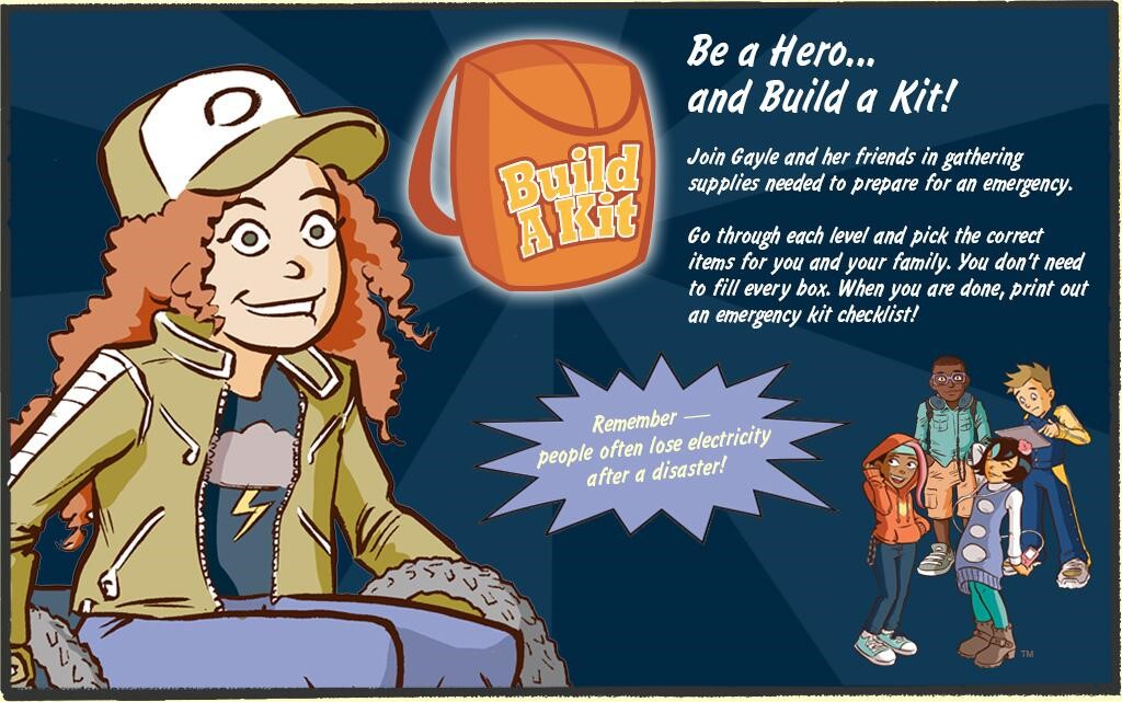 Want to involve your kids in emergency planning? Go on a quest with your family, create a scavenger hunt to create your emergency supply kit. Use this kid friendly checklist to help your kids be ready!  #BeReady #DisastersWontWait #NPM2020