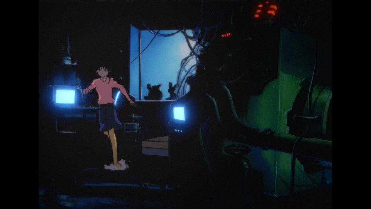 test ツイッターメディア - 「serial experiments lain」やっとBD盤一周できた…。1990年代の東京で「天使のたまご」「Talking Head」「アヴァロン」「立喰師列伝」を存分にやっていた。それを2010年に「GHOST IN THE SHELL 2.0」のノウハウで全てをアレンジするって…どんなオーパーツだよ!?映像見ているだけですごく奇妙な高揚! https://t.co/37jexjRkTr