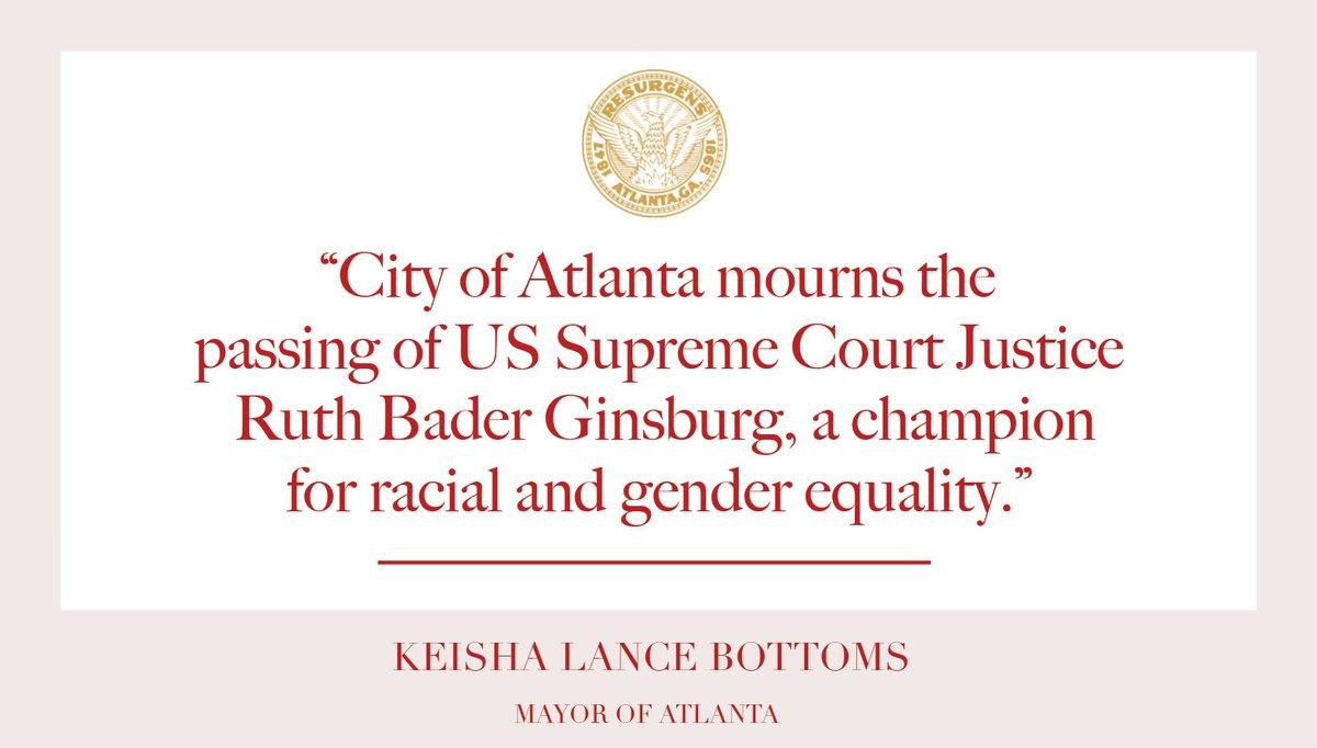 RT @CityofAtlanta: Read Mayor @KeishaBottoms full statement here: