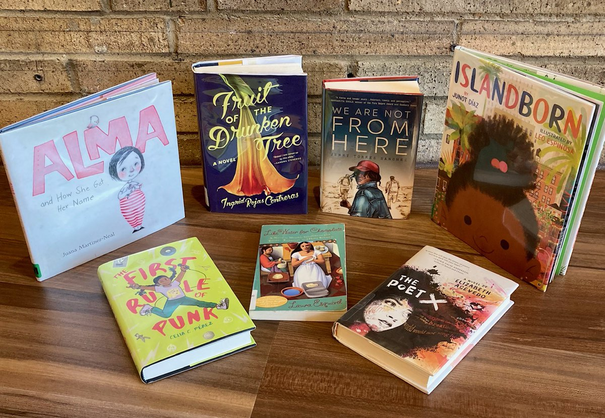 Did you know it is Hispanic Heritage Month? It began on September 15 and ends on Thursday, October 15.  Look at some of the titles we recommend that are at the library now!