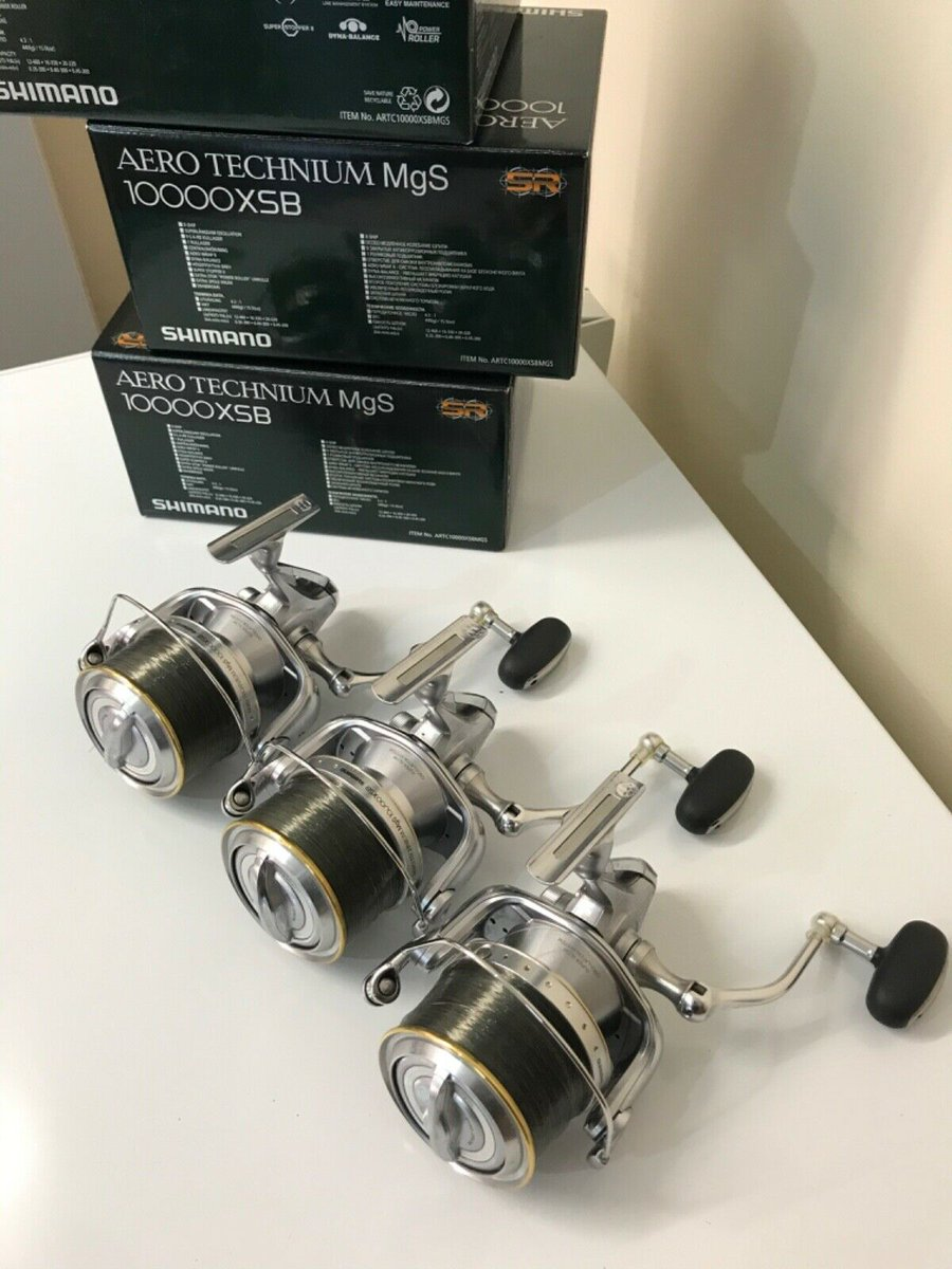 Ad - Shimano Aero Technium MgS 10000XSB On eBay here -->> https://t.co/QINVMkZjXd  #carpfishin