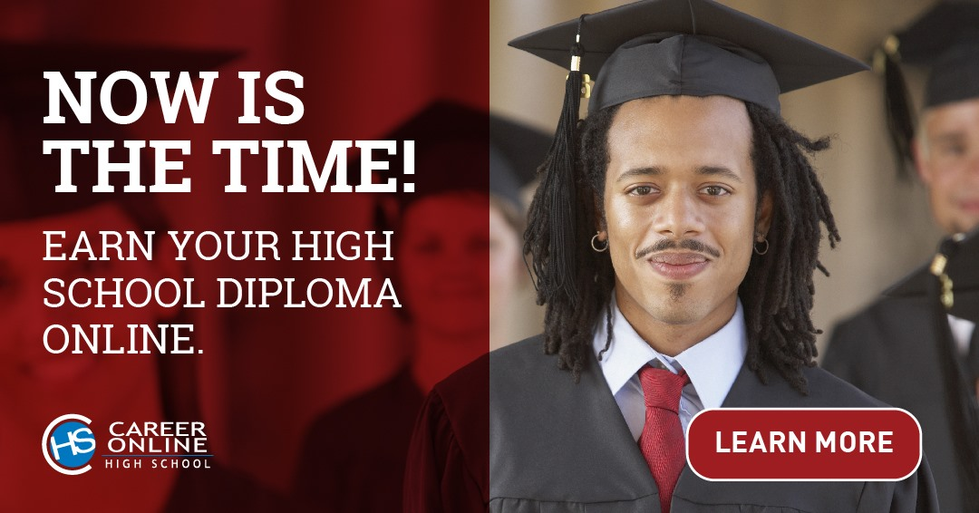 Earn a high school diploma and get job training with Career Online High School.  Free through SLPL. Best of all, it's online.