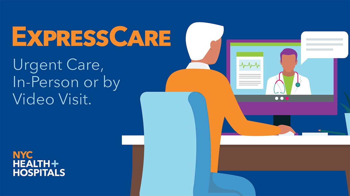 Either by video visit or in person, our #ExpressCare clinics treat: + #COVID19 + Cold and #flu symptoms + Sinus infections + Sore throats + Allergies and #asthma + Minor pains + And so much more! Learn more about our #UrgentCare centers: