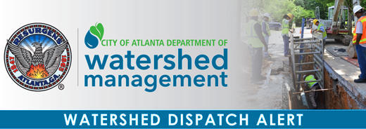 Crews have turned on a six-inch main at 745 Old Post Road NW after replacing a hydrant. The outage affected 20 homes and three hydrants. #DWMatWork #ATLWatershed