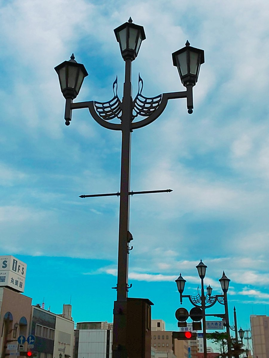 test ツイッターメディア - 千歳が鮭の街なら釧路は鶴の街  あちこちにタンチョウヅルモチーフのデザインが見られます https://t.co/swfn13PRNk