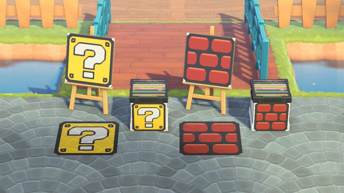 test ツイッターメディア - あつ森でスーパーマリオのブロックを再現してみた。 デザインは以前、クラブニンテンドーにあったコースター。 #どうぶつの森 #あつ森 #あつ森マイデザイン #マリオ #スーパーマリオ #スーパーマリオ35周年 #レンガブロック #はてなブロック #ハテナブロック #AnimalCrossing #SuperMario https://t.co/jLBizdrNqA