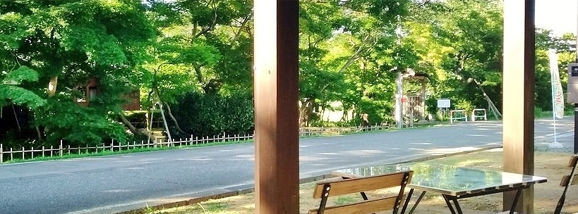 test ツイッターメディア - ☆夏の名残りの青もみじも!桜&紅葉でお馴染!「もみじ園」内に、ゆったり寛げる通年観光型カフェ、和Cafe「越路もみじの茶屋」OPEN!新潟県長岡市・越路地域*10時~16時*水休*テラス席有 ※新型コロナウイルス感染防止策有 赤ちゃん~ばさじさGO! ⇒付近・朝日酒造:蛍庵 https://t.co/jfQbiQA5um https://t.co/usQK6pQ7gm
