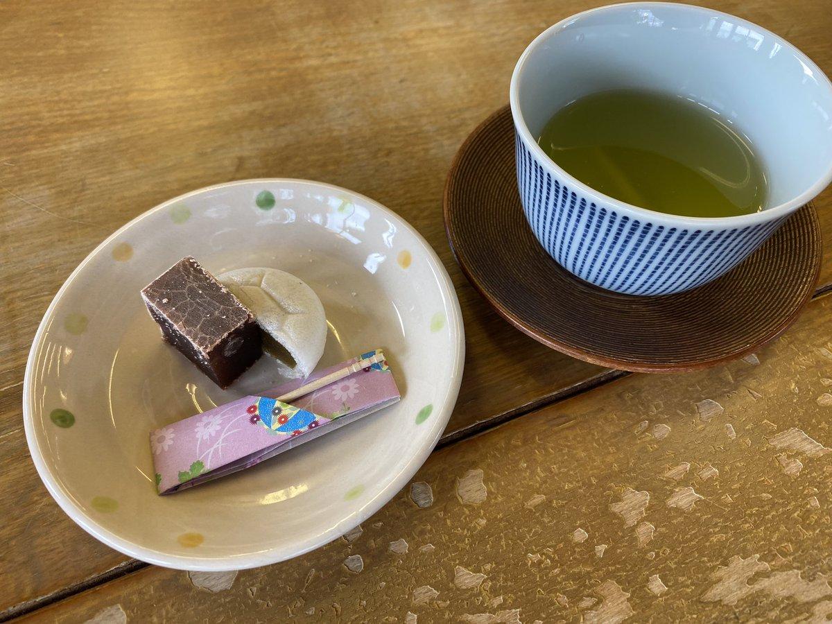 test ツイッターメディア - 増田の小城羊羹 佐賀土産をゲット^ ^ お茶もいただきました https://t.co/70KsruFylk