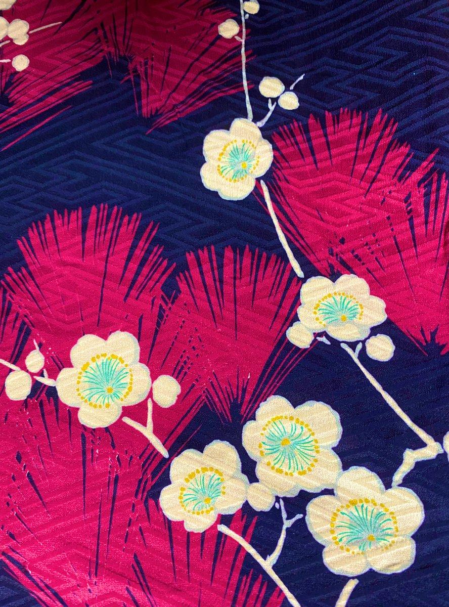 test ツイッターメディア - この時期ですが梅柄はいつもいっぱい麻のハ堂です。水戸の梅ですので。 #麻のハ堂 https://t.co/jeHtNmRoJj