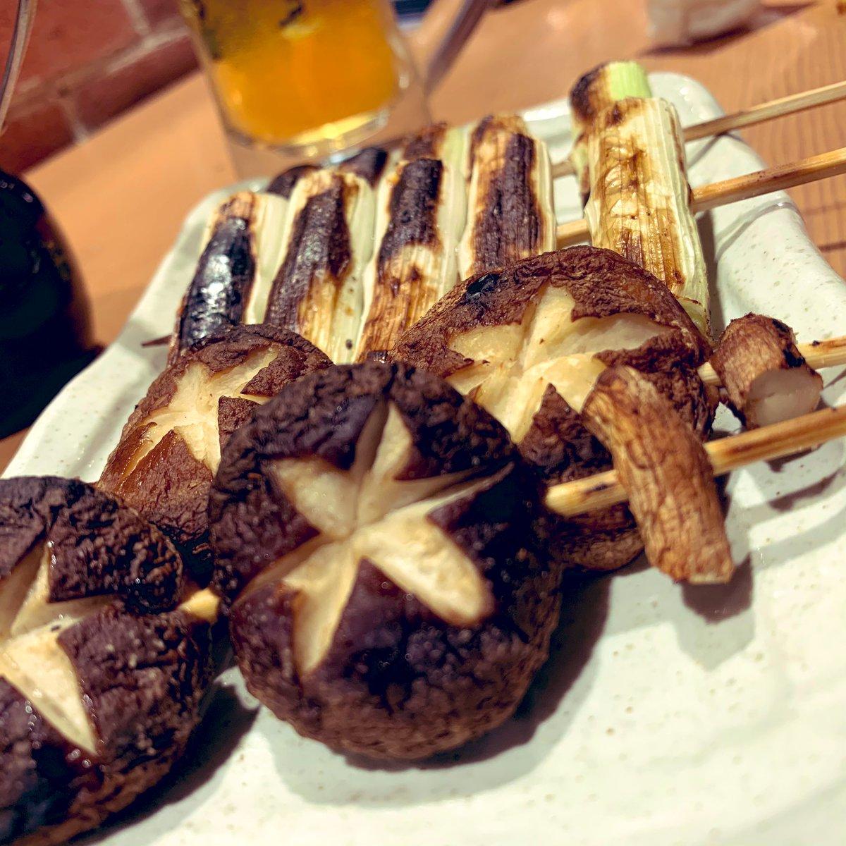 test ツイッターメディア - 野菜の美味い店は良いねん。船橋坊ちゃん。十四代とか而今とかうまそうな日本酒もあるんだけど、串にはビールか焼酎っていう先入観。 https://t.co/nbtIe1jWF7