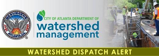 Crews are responding to a potential incident at 50 Mount Zion Rd SE. We will keep you updated on the status of the repairs. #DWMatWork #ATLWatershed