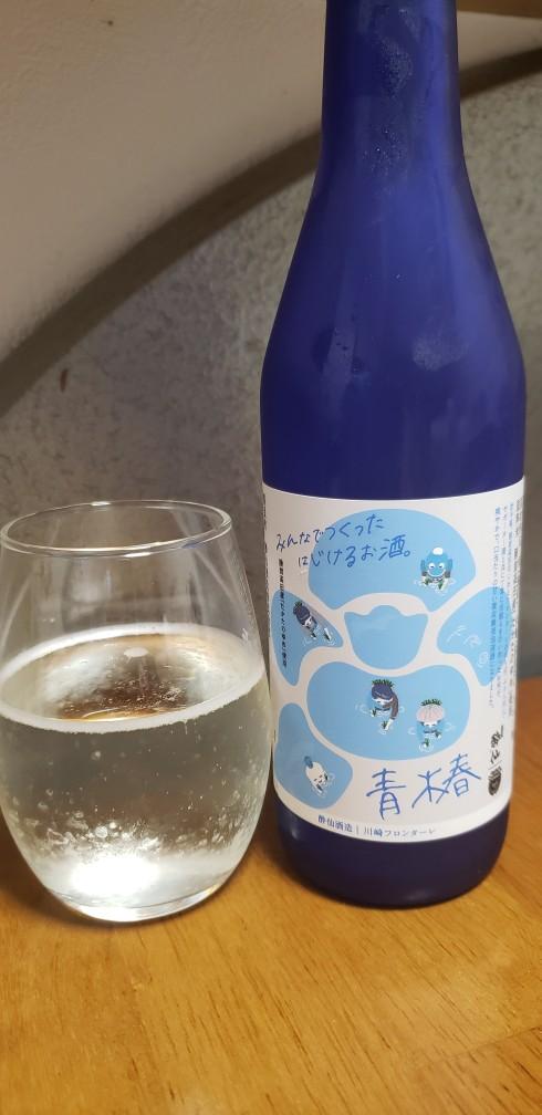 test ツイッターメディア - フロンターレは3-0で勝利。スコア以上の完勝、大島選手の怪我が気がかり。祝杯に、フロンターレと陸前高田のコラボ日本酒、酔仙酒造さんの青椿を。昨年訪れたふろん田で育てられたたかたのゆめが美味しい日本酒になりました… https://t.co/WIimMLGU7B