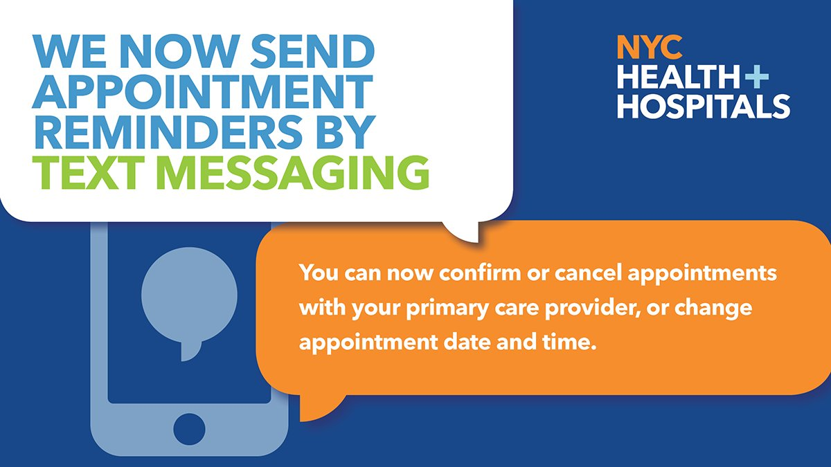 We have expanded our text messaging appointment reminders to our patients. We now offer texting services in the 14 most common languages spoken by the patient population, including Spanish, Urdu and Mandarin. Learn more: