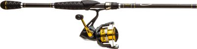New Shimano Sahara FI/Bass Pro Shops Pro Qualifier 2 Spinning Rod and Reel...