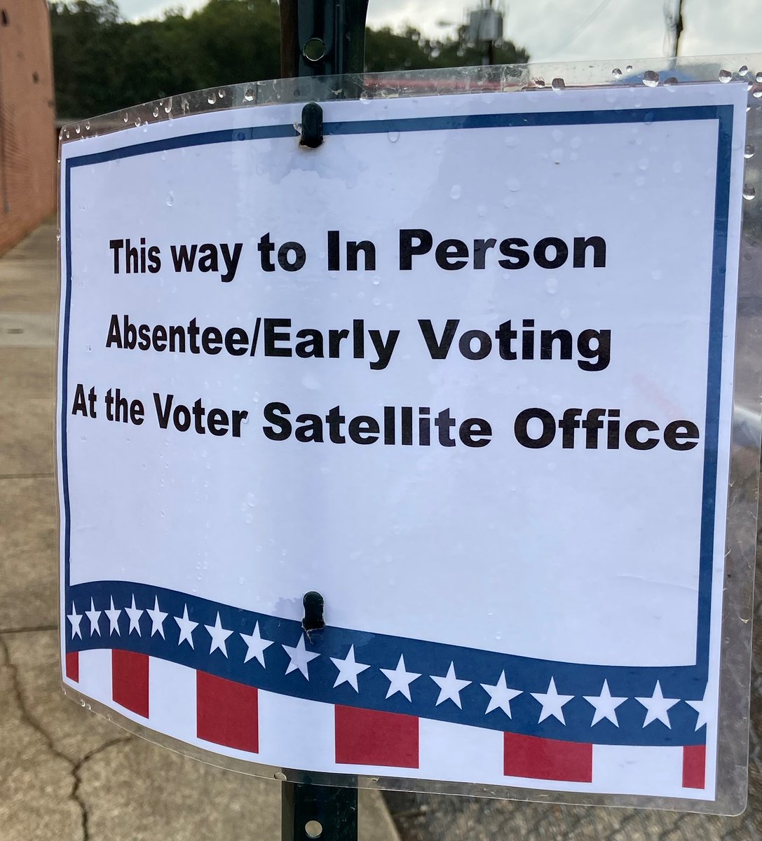 In Person Absentee/Early Voting began in #GoochlandCounty on Friday, Sept. 18th.    A Voter Satellite Office is located in Parks & Recreation's Goochland Sports Complex (1800 Sandy Hook Rd) to handle in-person absentee early voting. For more info visit: