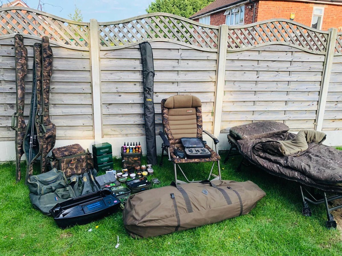 Ad - Complete Carp Fishing Set Up - High End Tackle On eBay here -->> https://t.co/DLQkij0uHo