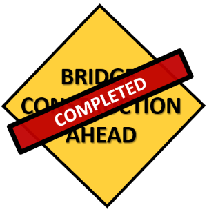 SEPTEMBER 18, 2020 UPDATE: BRIDGE L-6 IS NOW OPEN  ORIGINAL 5/4/20 POST:  L-6, County Route 513, Lebanon Township:  Replacement of County Bridge L-6 on County Route 513 in Lebanon Township