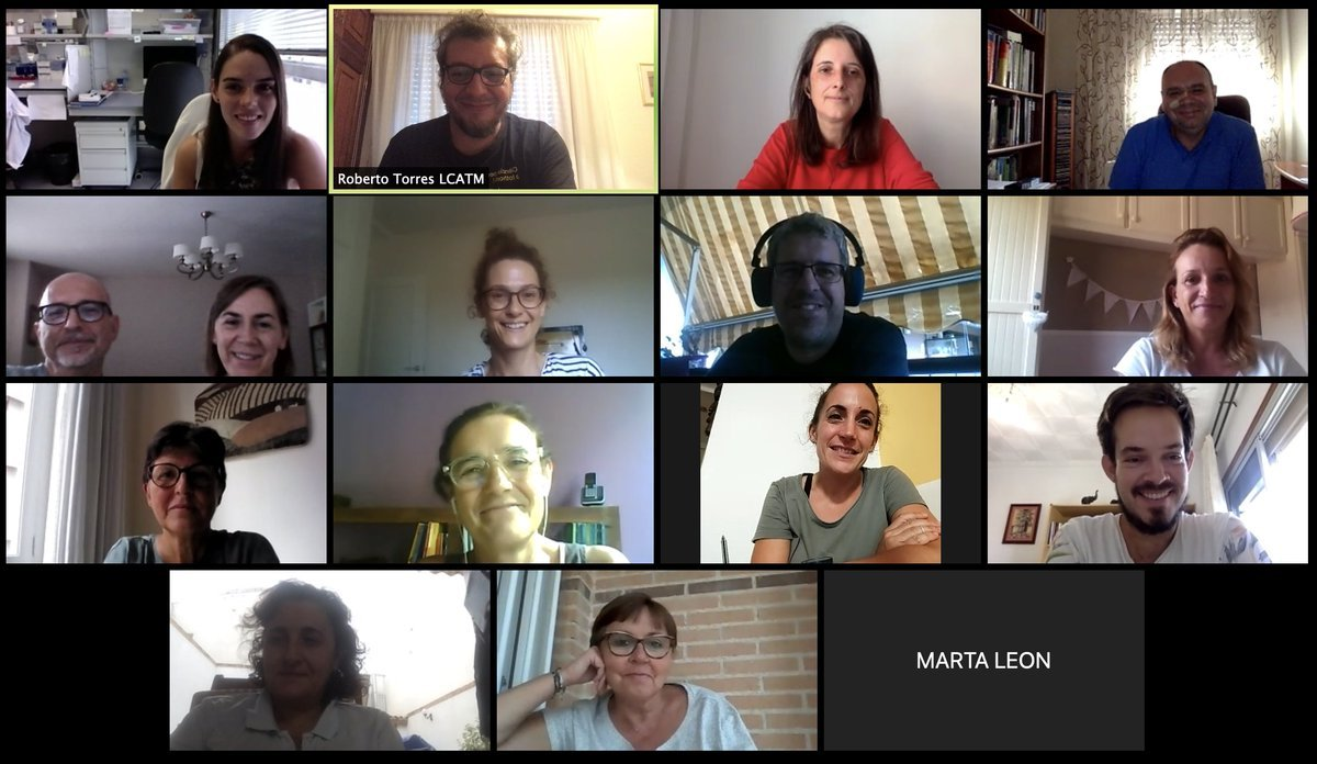 test Twitter Media - Virtual meeting with the #MelanogasterCTF #CitizenScience teachers to organize the 2020 biological sampling campaign of #Drosophila  It is always a pleasure to see you guys! https://t.co/7Zs8EzwY4L