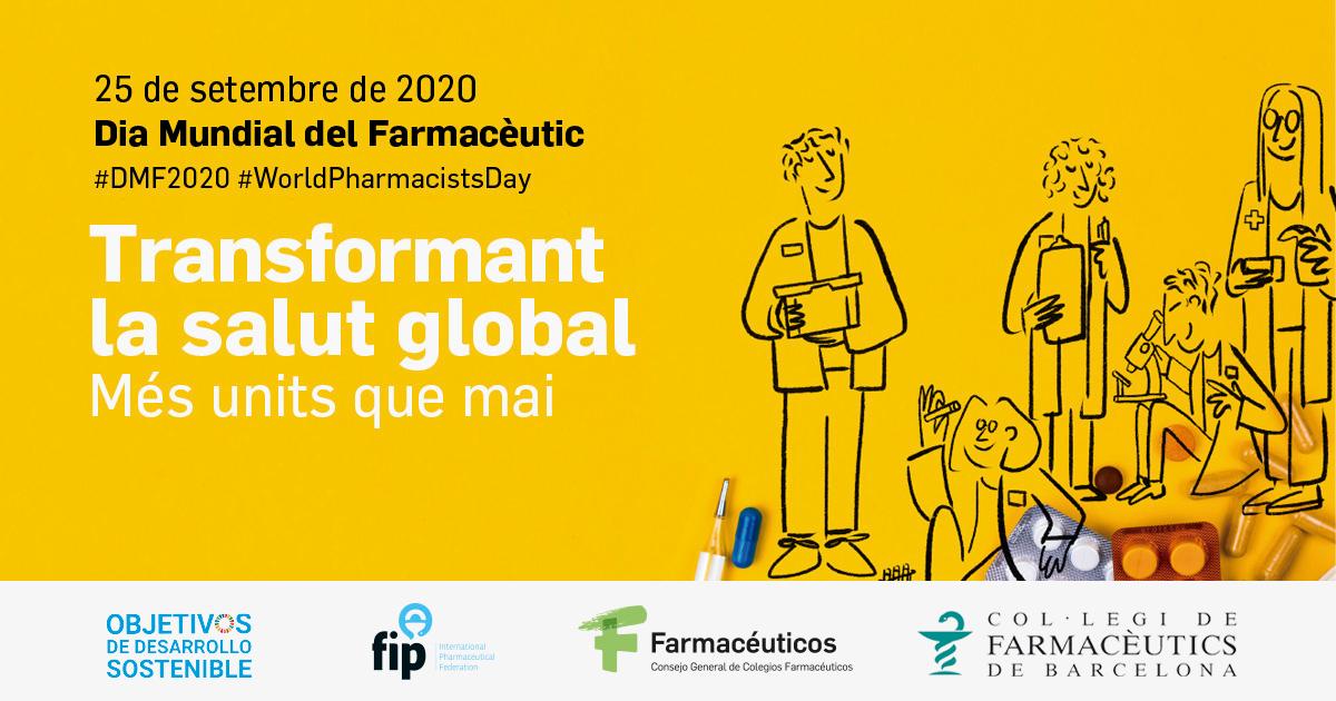 """test Twitter Media - """"Transformant la salut global"""" Els farmacèutics i farmacèutiques reivindiquen el seu paper com a agents sanitaris globals el pròxim 25 de setembre en el #DiaMundialdelFarmacèutic.   ℹ️https://t.co/eYwyLnqF0X  #DMF2020  #WorldPharmacistsDay   #SocFarmacèutic  #SocFarmacèutica https://t.co/CCxC4UHVYy"""