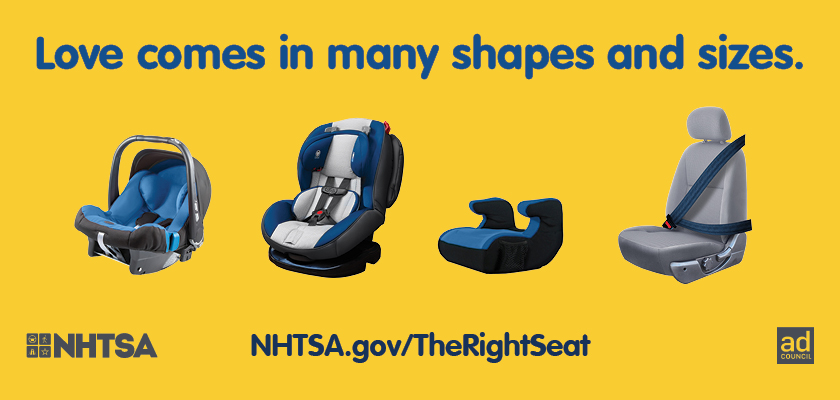 This week, September 20-26, is National Child Passenger Safety Week and is a great time for parents to make sure your child is in the right car seat, that the seat is properly installed, and to make sure the seat is registered with the manufacturer.