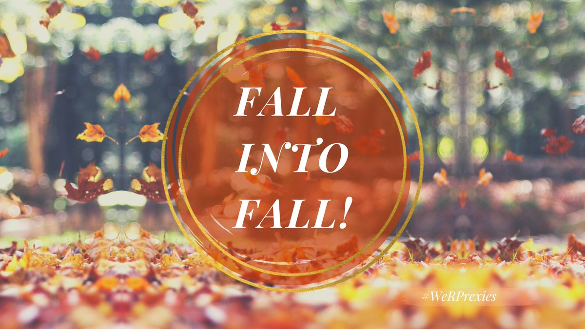 🍁🥧☕ 𝑾𝑬𝑳𝑪𝑶𝑴𝑬 𝑭𝑨𝑳𝑳! Today, September 22, marks the official start of cozy sweater season, jumping in leaf piles and everything pumpkin spice of course! What makes you 𝘧𝘢𝘭𝘭 for fall? 🧡 #WeRPrexies