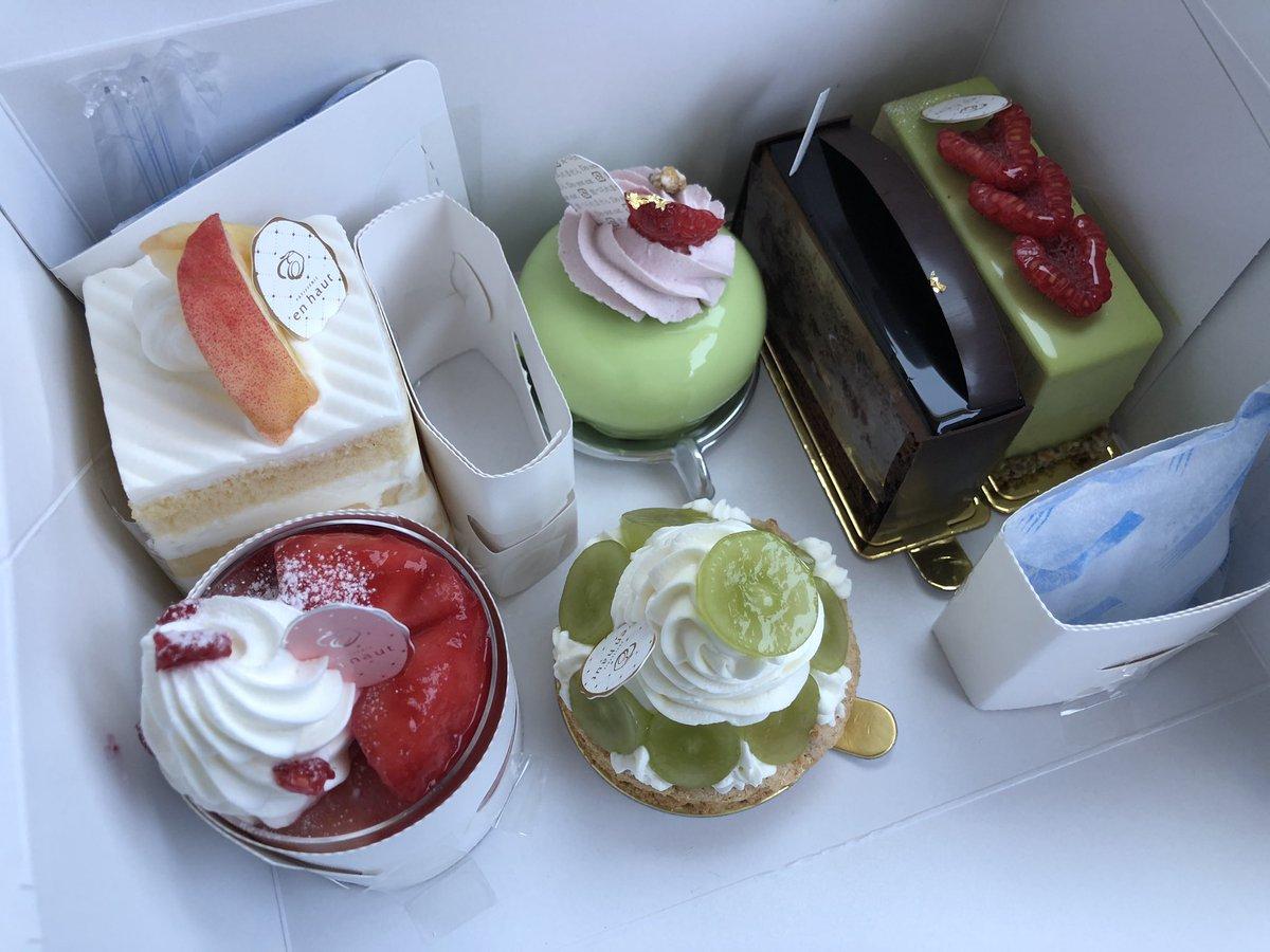 test ツイッターメディア - 宮崎市にある人気有名スイーツ店、アンオー(en haut)@江平東(宮崎市)さんを再訪。モンブラン等の生ケーキを12個と焼き菓子を6個購入。 https://t.co/ltxHQrF1Bm