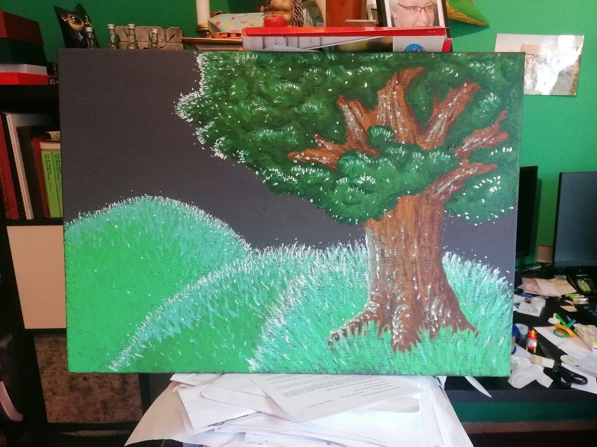 test Twitter Media - 17. #Farbtember - Baum  Ich habe mich am Freitag ein bisschen mit dem Geschenk für eine Freundin zur Hochzeit übernommen x.x https://t.co/bTkp0tniOh