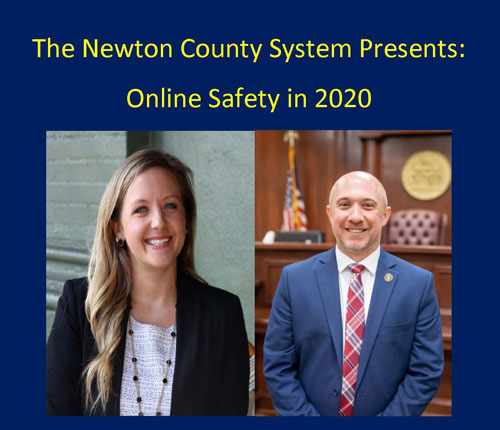 """DON'T MISS: ONLINE SAFETY IN 2020... NCSS, in conjunction with the Newton County District Attorney's office and A Child's Voice Child Advocacy Center, is pleased to offer """"Online Safety in 2020"""" for parents/guardians of school age children.  #NCSSBeTheBest"""